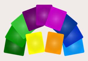 Farbfolien, Schwingung, Eigenschwingung, Bioresonanz
